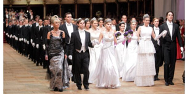 Opernball verliert an Reichweite: 1,33 Millionen