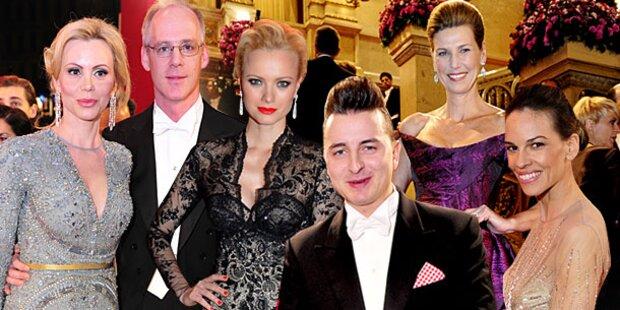 Opernball 2013: Hollywood feiert in der Oper