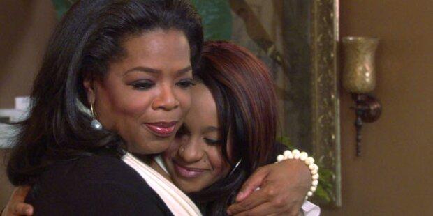 Oprah Winfrey tröstet Bobbi Kristina