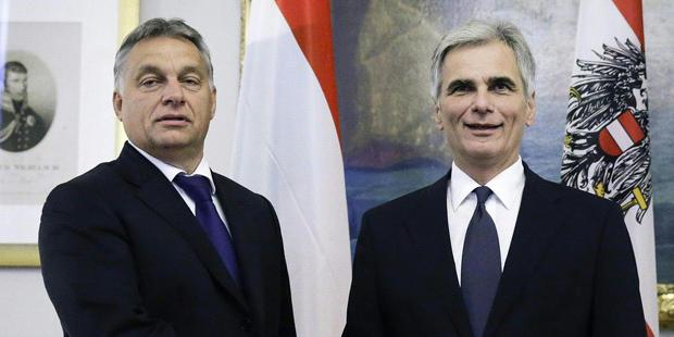 Faymann Orban