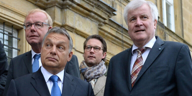 CSU verteidigt Politik Orbans
