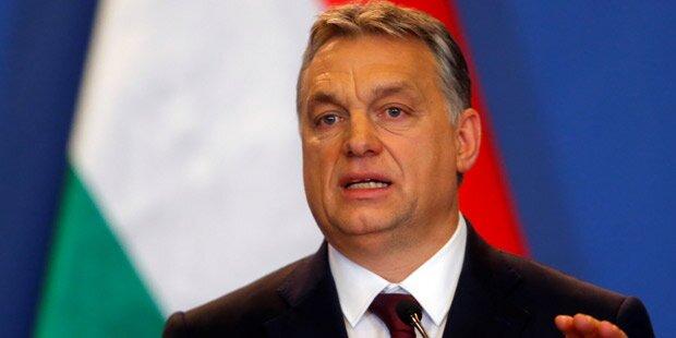 Orban: EU stellt sich auf Seite von Terroristen