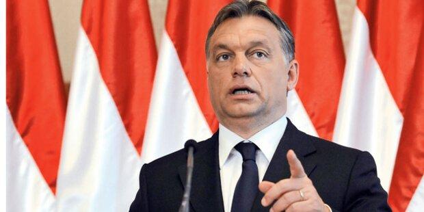Orban ruft Österreich zur Grenzschließung auf