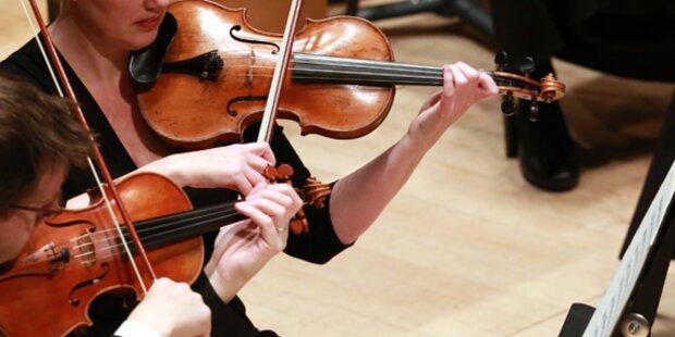 Philharmoniker: 40 Geigen gestohlen