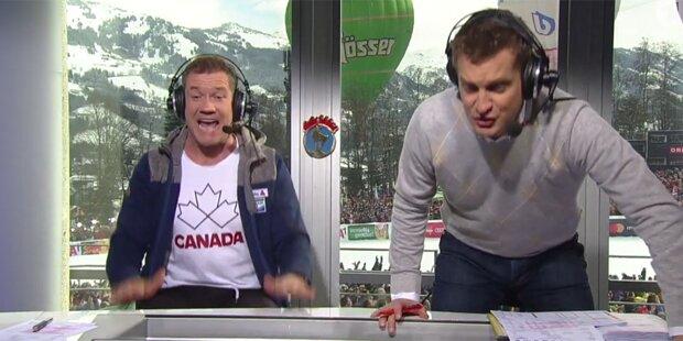 Deutsche feiern ORF-Kommentatoren