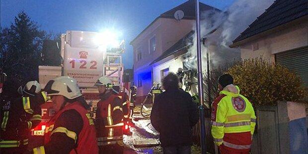 Wohnhaus-Brand: 68-Jähriger stirbt in den Flammen