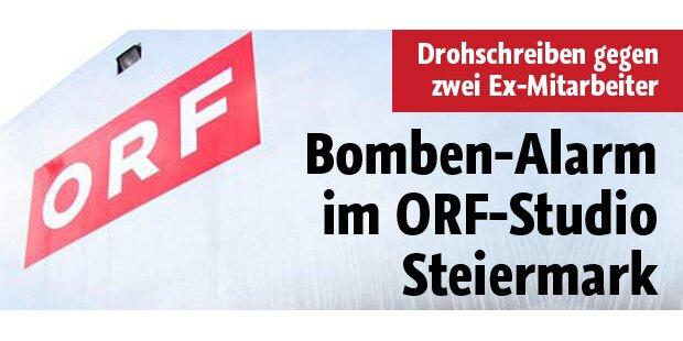 Bomben-Alarm im ORF-Studio Steiermark