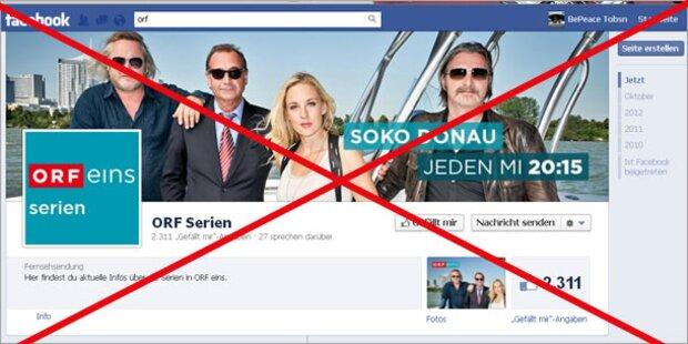 Höchstgericht bestätigt Facebook-Verbot für ORF