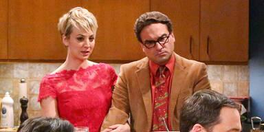 The Big Bang Theory: Kaley Cuoco & Johnny Galecki