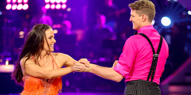 Dancing Stars: Thomas Morgenstern & Roswitha Wieland