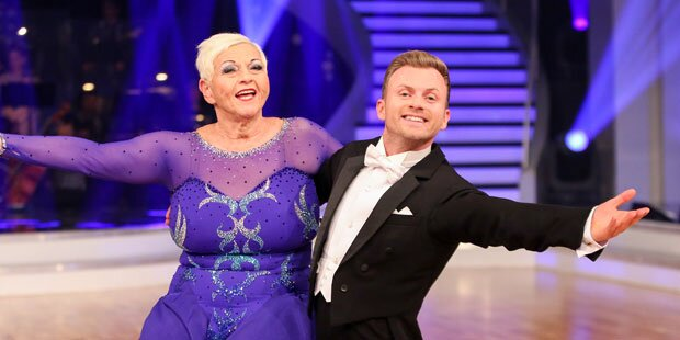 Dancing Stars: Alle lieben Jazz Gitti