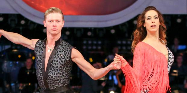 Dancing Stars: Nina Hartmann und Paul Lorenz