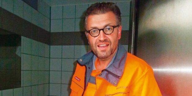 ORF-Serie: Firmen-Chef putzt das Klo
