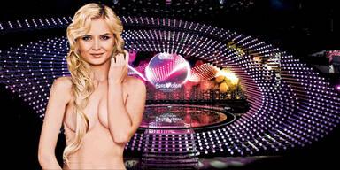 Polina versext den Song Contest