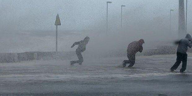 Orkan mit mehr als 150 km/h