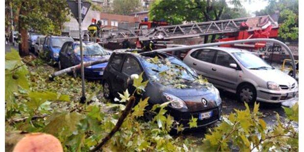 Schwere Unwetter in Italien - vier Tote