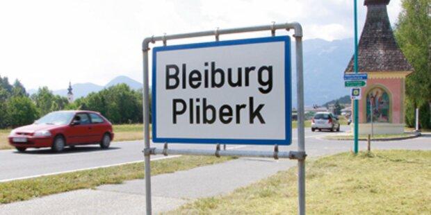 Ortstafelbeschmierer in Kärnten geschnappt