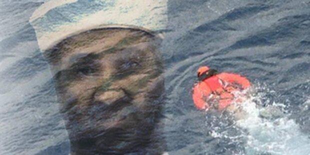 Taucher sucht nach Leiche von Bin Laden