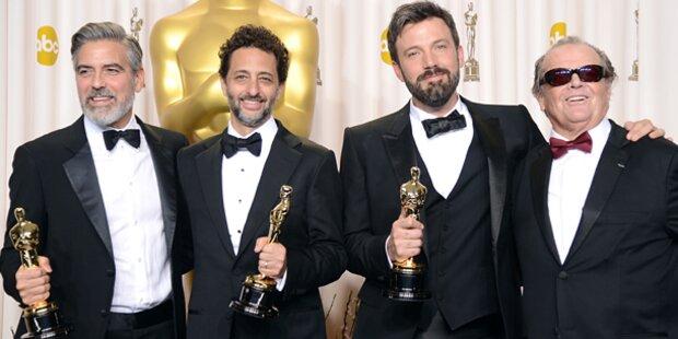 Alle Gewinner der Oscar-Gala 2013