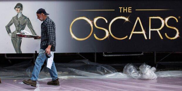 Hollywood rüstet sich für Oscar-Gala