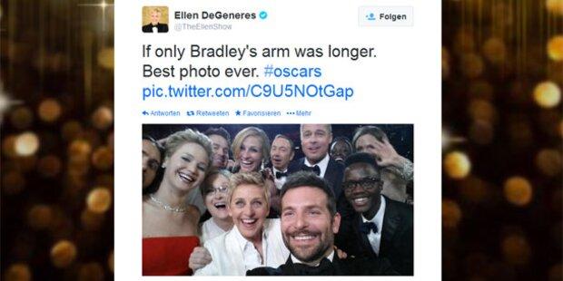 Oscar-Selfie: Samsung spendet 3 Mio. Dollar