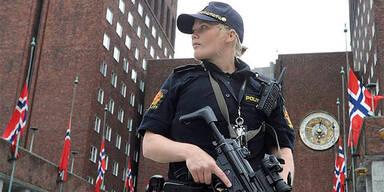 Polizistin in Oslo
