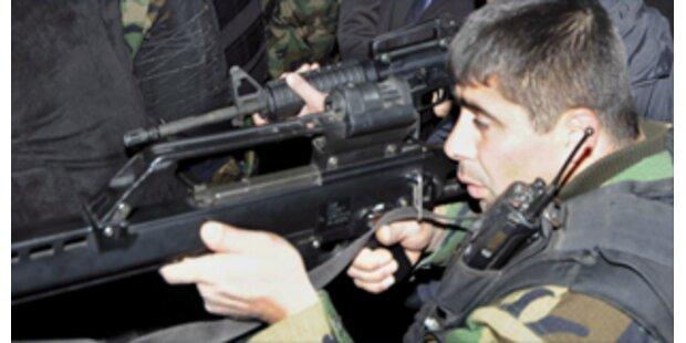 OSZE-Konvoi in Südossetien unter Beschuss