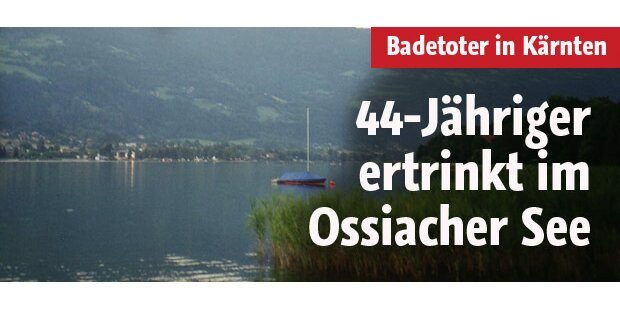 44-Jähriger ertrinkt im Ossiacher See