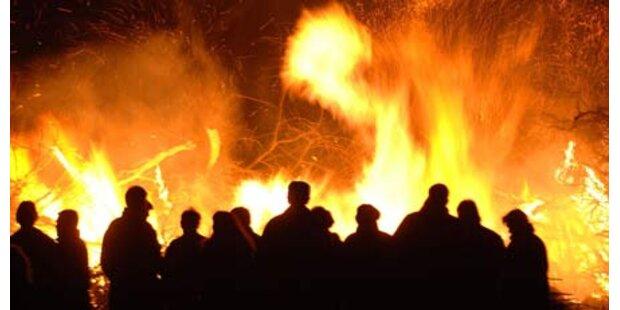Halali auf Osterfeuer in Graz