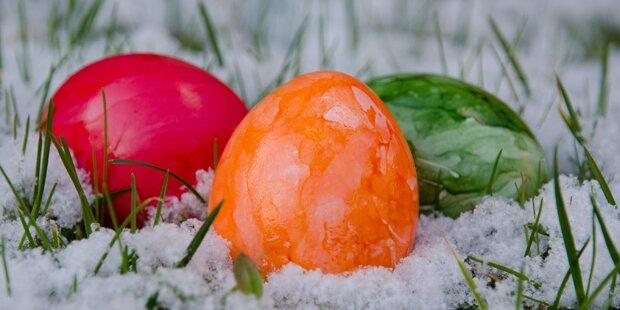 So verregnet wird Ostern