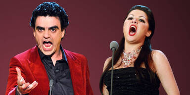 Rolando Villazon und Anna Netrebko