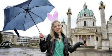 Regen in den Osterferien