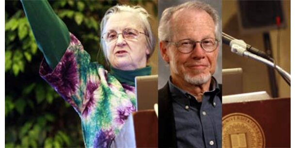 Wirtschaftsnobelpreis an 2 US-Forscher