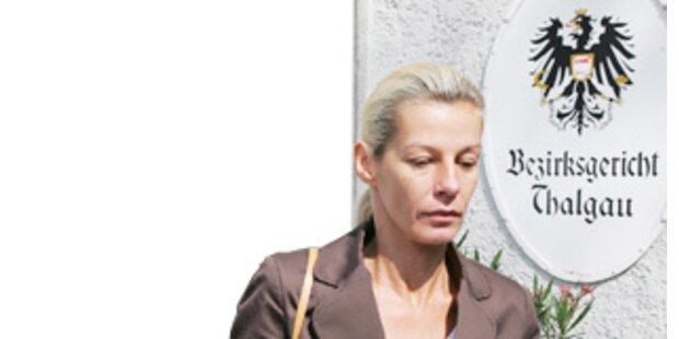 Michaela Zadrazil klagt Kurzzeit-Ehemann