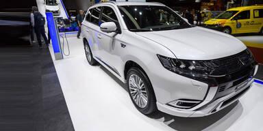 Mitsubishi bringt neuen Outlander PHEV