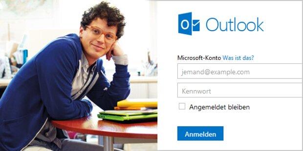 Outlook.com soll Hotmail ablösen