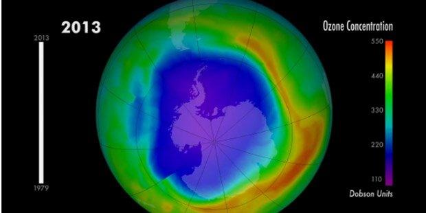 Was wurde eigentlich aus dem Ozonloch?