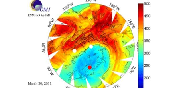 Sonnenbrand-Gefahr wegen Ozonloch