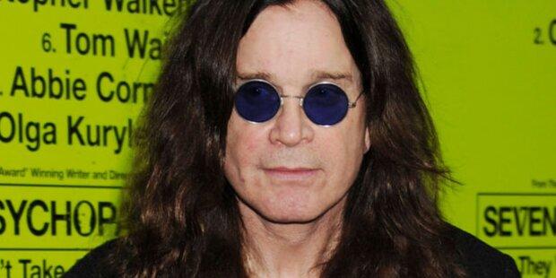 Osbourne bei Brand in seinem Haus verletzt
