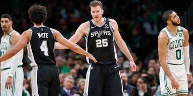 Pöltl führt Spurs mit starker Leistung zum Sieg