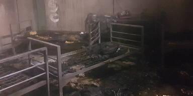 Neue Details zu Brandstiftung in Schub-Gefängnis