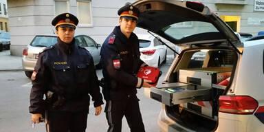 Polizisten Wien
