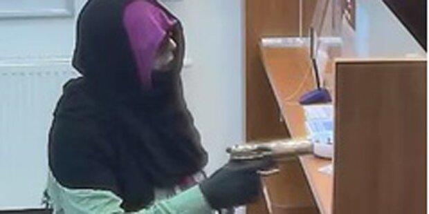 Schon wieder! Kopftuch-Räuber überfiel Bank in Wien