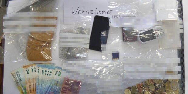 Drogen um über 100.000 Euro verkauft