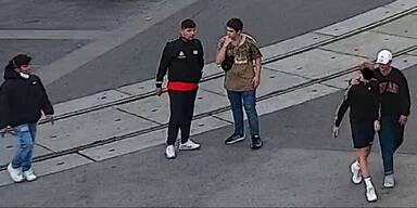 Raub in Wien: Polizei sucht diese Personen