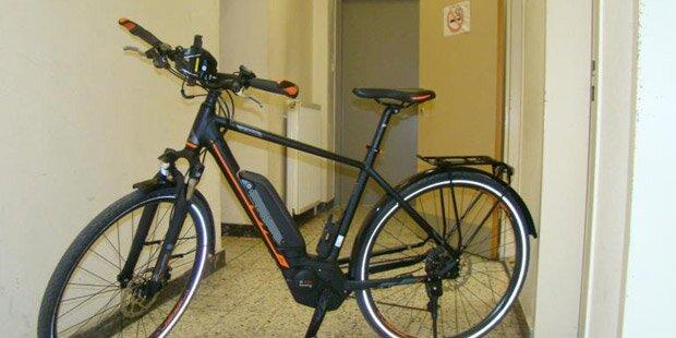 Fahrrad-Dieb liefert sich Verfolgungsjagd mit Polizei