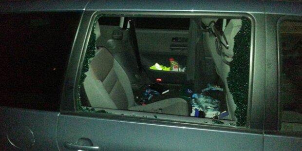 3 mutmaßliche Autoeinbrecher geschnappt