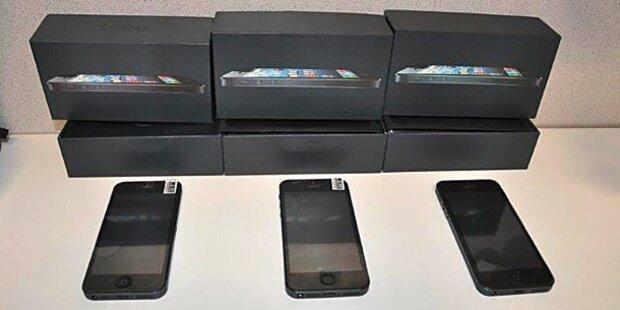 Bande verkauft gefälschte iPhones
