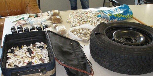 Mega-Coup: Wiener Polizei hebt Drogenring aus