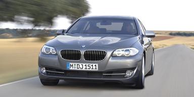 Neuer 5er BMW im ersten Test